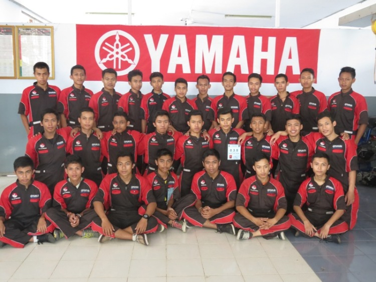 Peserta Ujian Kompetensi Kelas Khusus Yamaha Tahun Pelajaran 2015/2016