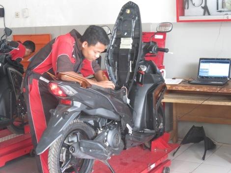 UKK Kelas Khusus Yamaha